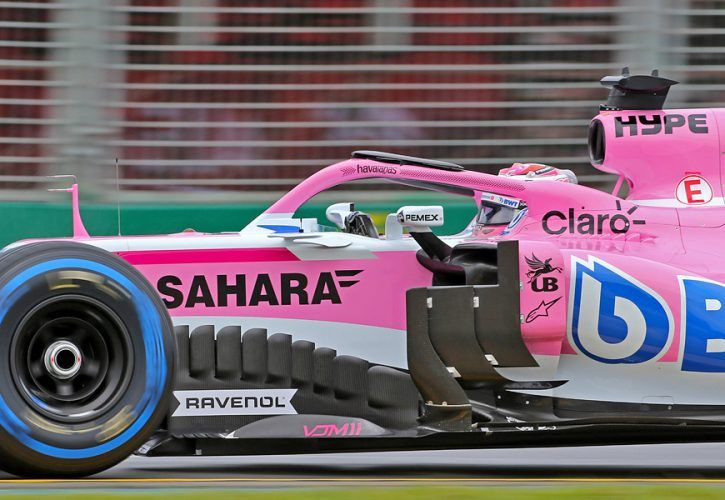 Sergio Perez (MEX) Sahara Force India F1 24.03.2018.