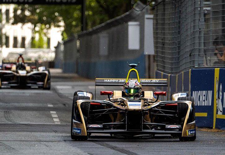 Vergne takes fourth pole of 2017-18 at Paris ePrix