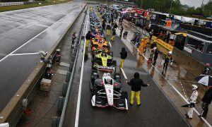 IndyCar gets washed out in Alabama!