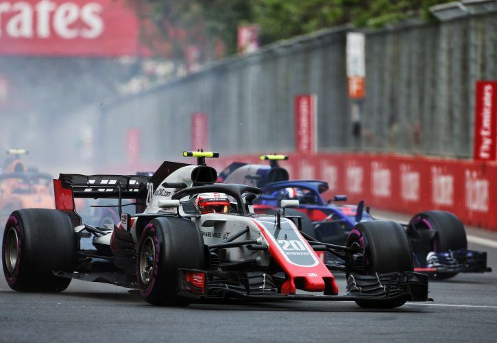 Pierre Gasly destroys Kevin Magnussen after terrifying incident during Azerbaijan GP