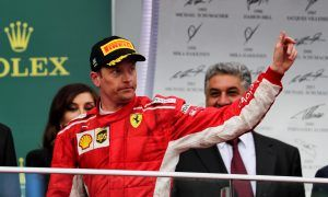 Raikkonen relieved to survive a day of 'too many close calls'