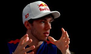 Toro Rosso's Gasly buoyed by 'productive' first day