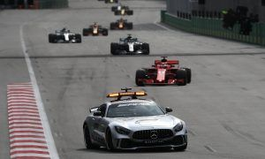 Hamilton unhappy with Vettel's safety car antics in Baku