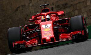 Ferrari's Vettel bounces back to the top in FP3!