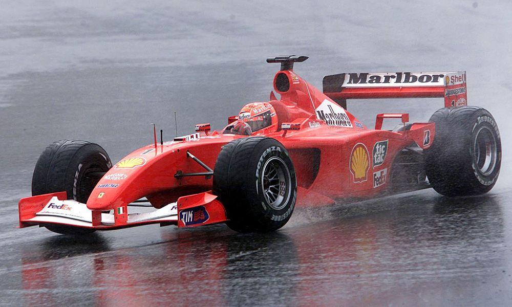 Michael Schumacher, Ferrari  - 2001 Brazilian Grand Prix