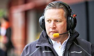 Zak Brown appointed McLaren CEO in management shake-up