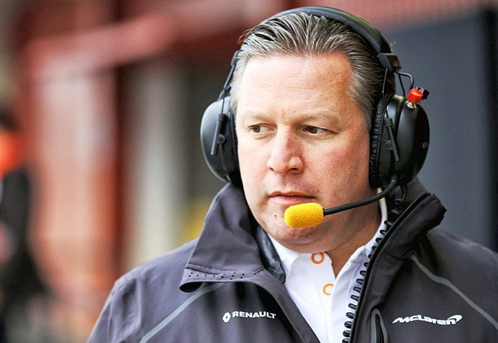 Zak Brown (USA) McLaren Executive Director