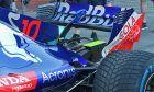 Toro Rosso/Honda rear wing detail