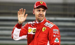 Vettel leads Raikkonen to Ferrari front row lock-out in Bahrain