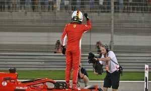 Vettel delighted to come out on top in 'intense' qualifying