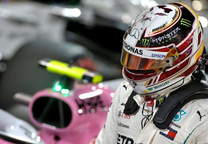 Lewis Hamilton (GBR) Mercedes AMG F1 - Bahrain Grand Prix
