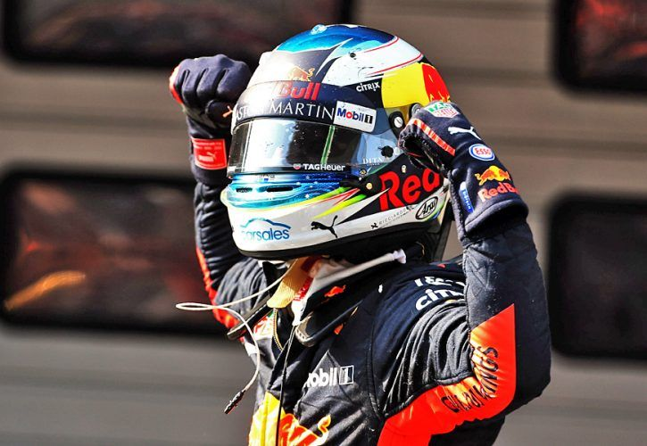 Chinese Grand Prix Race winner Daniel Ricciardo (AUS) Red Bull Racing