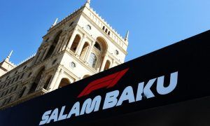 Gallery: Thursday's build-up in Baku