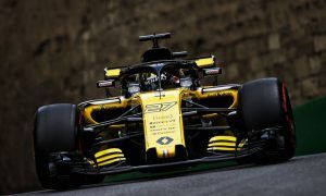 Renault 'pretty satisfied' with Baku qualifying performance