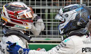 Front row in Baku was 'best job' for Hamilton