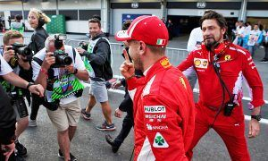 Vettel 'a bit too excited' after claiming Baku pole