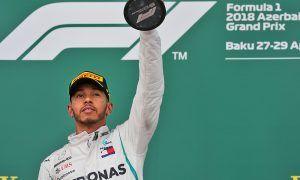 Hamilton wins from Raikkonen as Red Bull wipes out in Baku