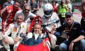 Old warriors reunited for Imola's Motor Legend Festival