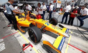 McLaren tight-lipped on full time IndyCar plans