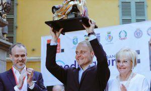 Valtteri Bottas awarded the Trofeo Lorenzo Bandini