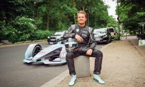 Rosberg electrifies the streets of Berlin with Gen2 racer