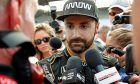 A dejected James Hinchcliffe after failing to qualify for the 2018 Indy 500