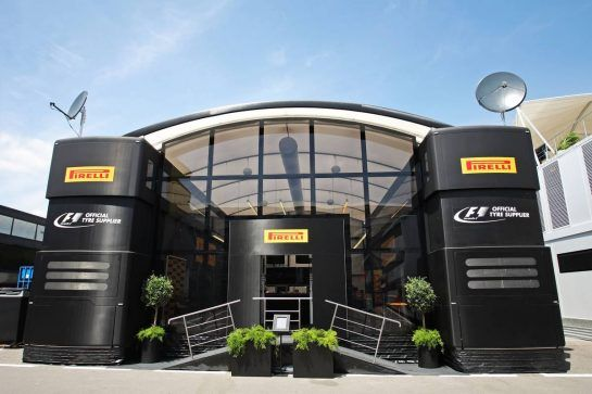 Pirelli motorhome.