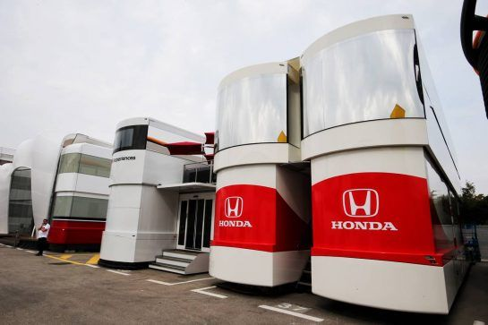Honda motorhome.