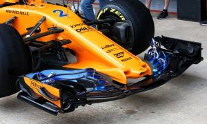A spectacular nose job it is for McLaren!