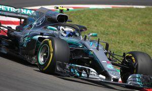 Valtteri Bottas leads disrupted FP1 session in Barcelona