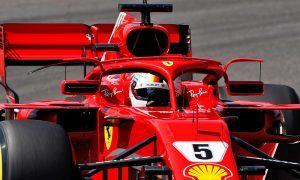 Vettel explains reasons behind Ferrari's halo wing mirrors