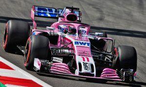Sergio Perez (MEX) Sahara Force India F1 VJM11.