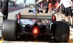 Mercedes trials new FIA rear light system