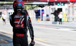 Grosjean happy to 'get back on the horse'