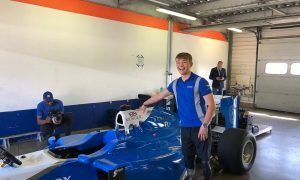 Billy Monger gets a surprise F1 test!