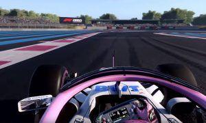 Drivers showcase Codemasters F1 2018's stunning graphics