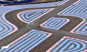 Racing lines and confusing lines at Paul Ricard