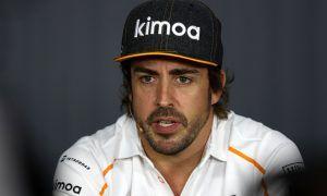 Alonso takes a swipe at negative media