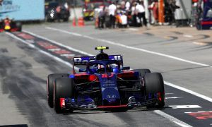 Gasly gets his new engine back, but also a 10-place grid penalty!