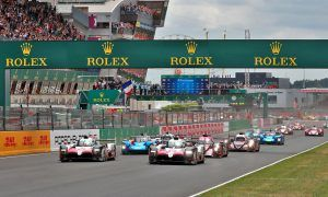 24 Heures du Mans 13-17/06/18 Le Mans - France Race start.