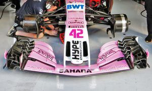 Force India on brink of running new front wing