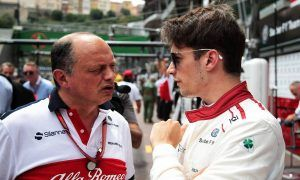 Vasseur denies talks about Raikkonen/Leclerc swap