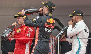 Hamilton 'loving the challenge' of three-way title fight