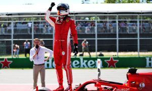 Vettel celebrates 'fantastic' pole after 'waking up the right way'