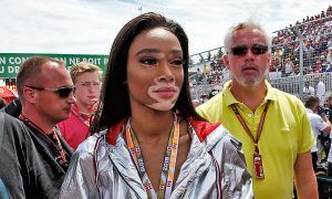 Winnie Harlow (CDN) Model, on the grid. 10.06.2018.