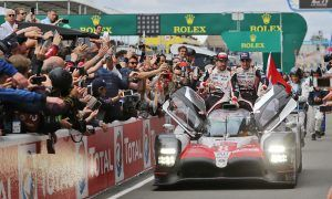 Alonso, Nakajima and Buemi win Le Mans for Toyota!