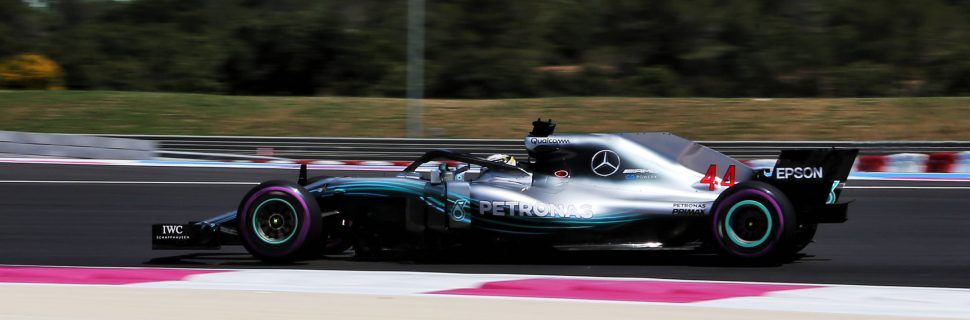 Hamilton leads the field in first practice at Paul Ricard