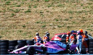 Force India hit with big fine following Perez wheel loss