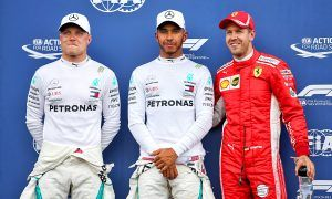 Hamilton and Bottas lock-out the front row at Le Castellet