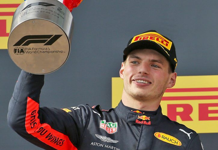 French Grand Prix: 2nd place Max Verstappen (NLD) Red Bull Racing RB14